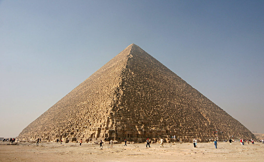 Mathematical Facts About The Great Pyramid